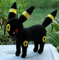 PATRON UMBREON (POKEMON) AMIGURUMI 1648