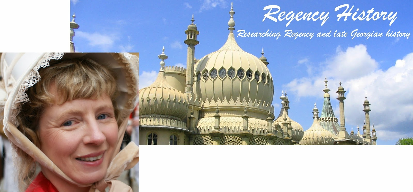Regency History blog header and picture of Rachel Knowles, author