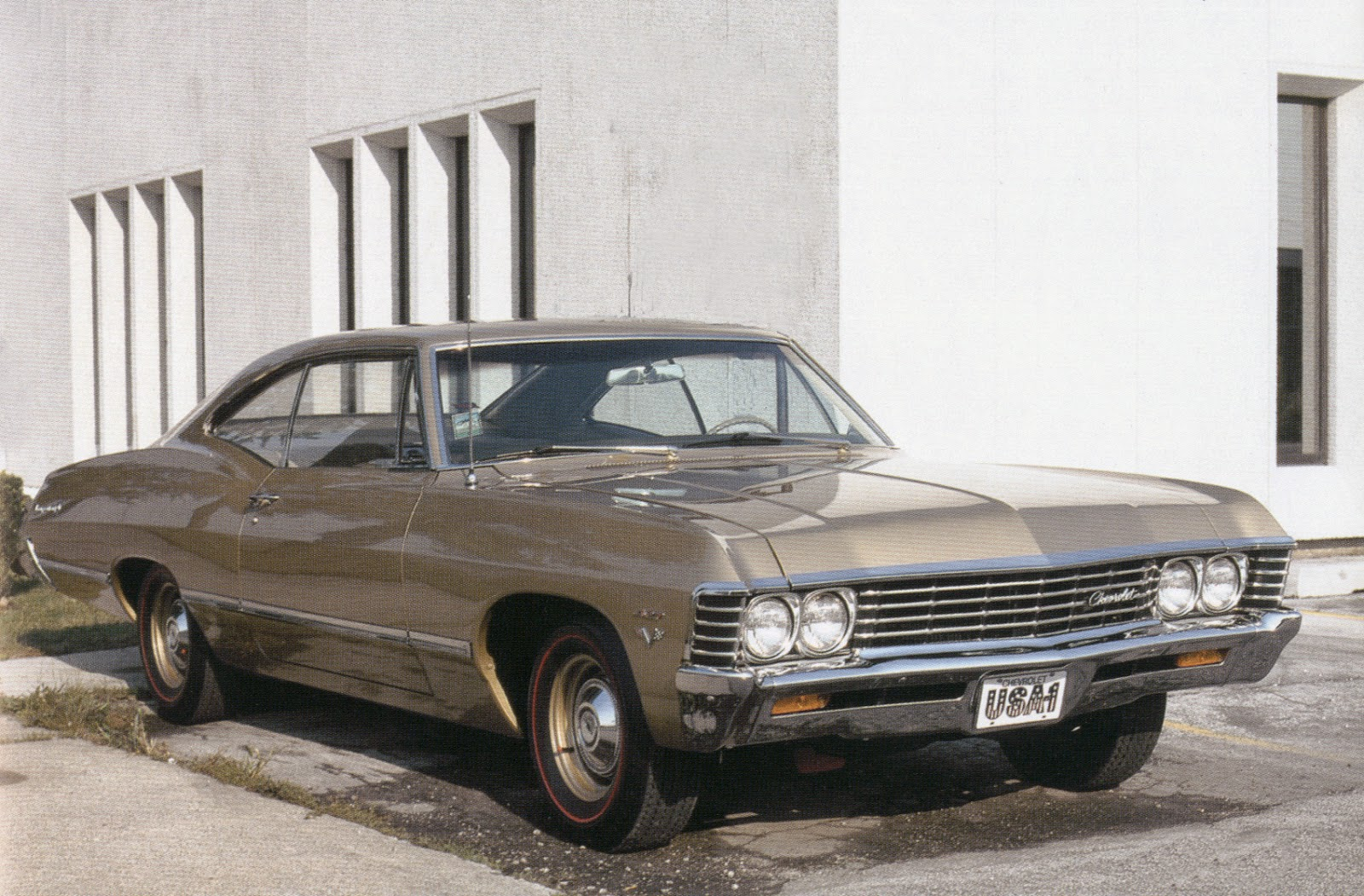 Some Impalas were made with the 427 engine and no SS package.