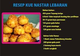 Resep dan Cara Membuat Kue Nastar Nanas (Kue Lebaran)