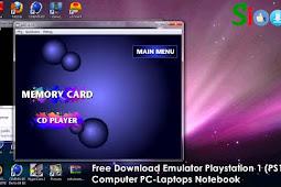 Free Download Emulator Playstation 1 PCSX or EPSXE