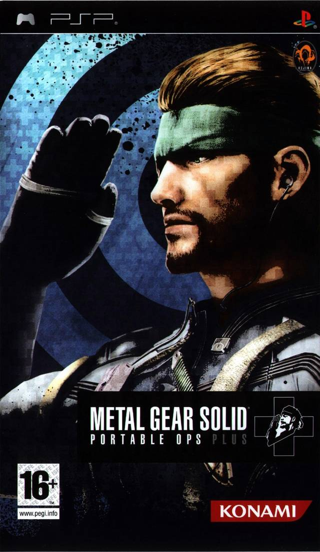 ROMs - Metal Gear Solid - Portable Ops Plus - PSP Download