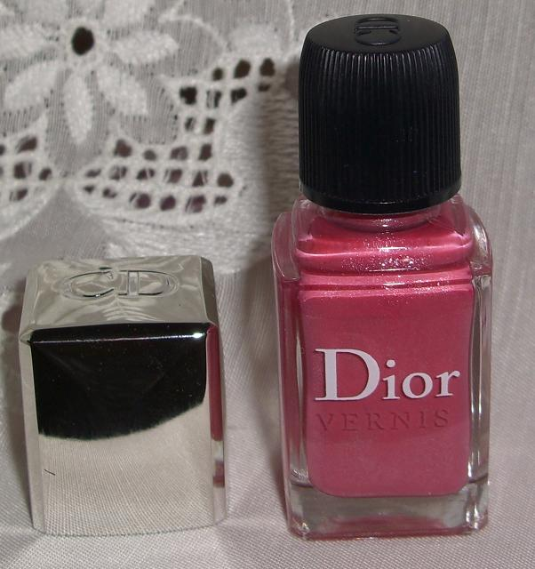 Blushed Wombat Dior Vernis Long Wearing Nail Lacquer Polish 461 Rose Nectar Nectar De Rose
