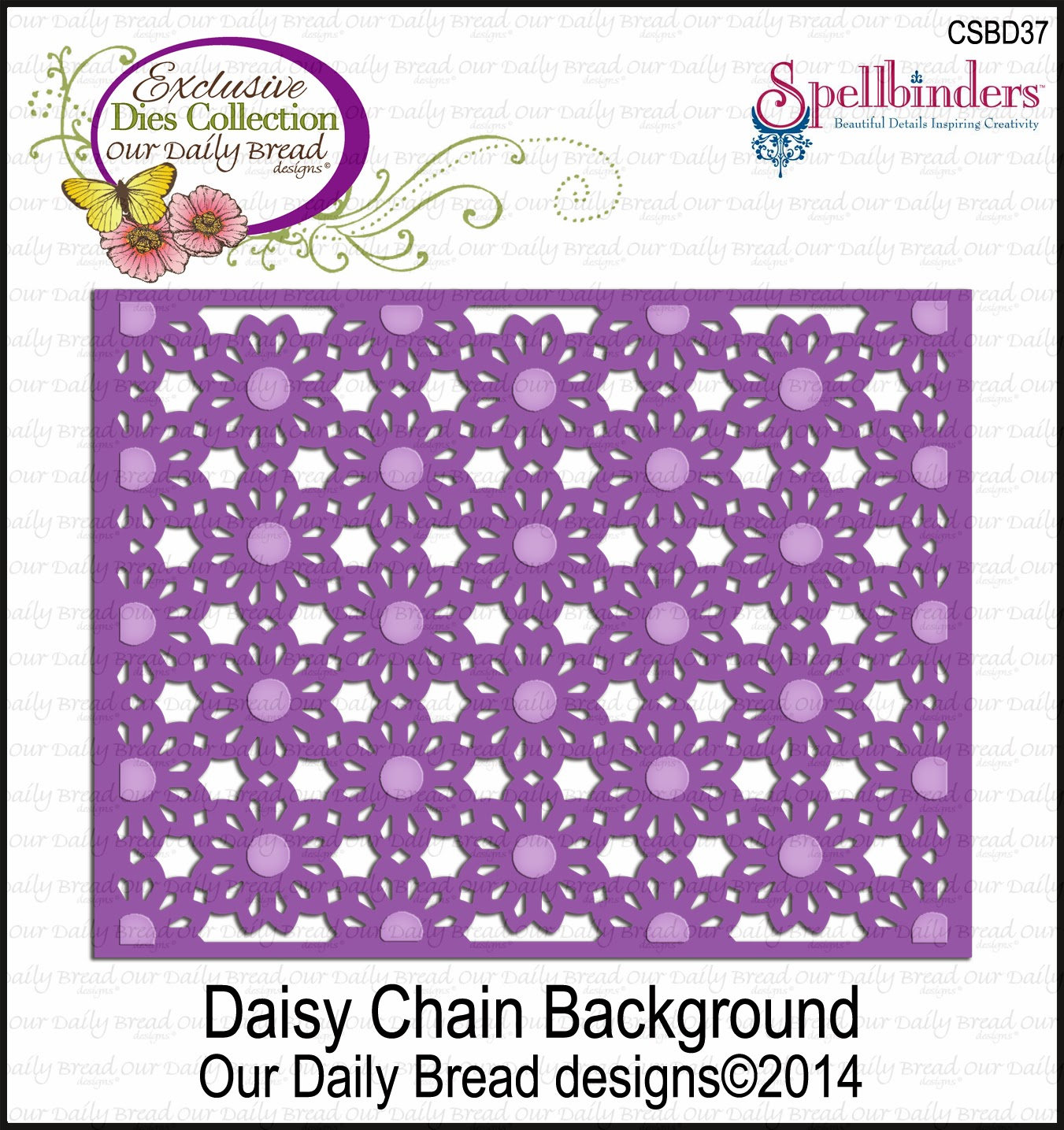 ODBD Daisy Chain Background Die