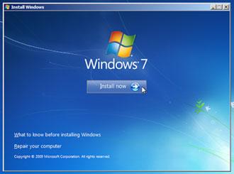 Install Now - cara format laptop