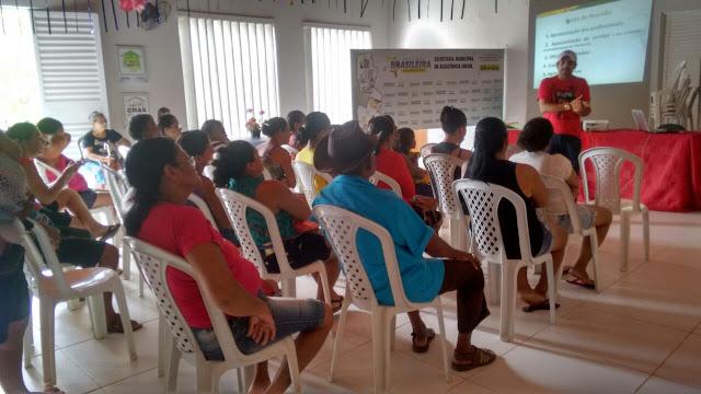 Semas inicia atividades do Serviço de Convivência e Fortalecimento de Vinculos