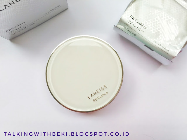 Review Laneige BB Cushion Whitening SPF 50++