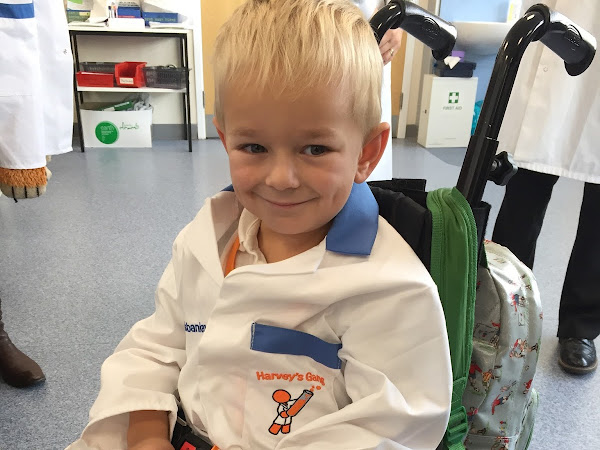 Henry joins Harvey's gang at St Richard's hospital Chichester, WSHFT