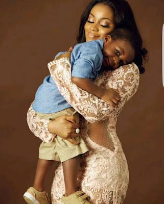Damilola Attoh's celebate her son Birthday  Photo Shoot for her Son