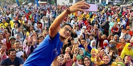 Sandiaga Minta Jubir BPN dan Fadli Zon Tak Buat Pernyataan Menyerang