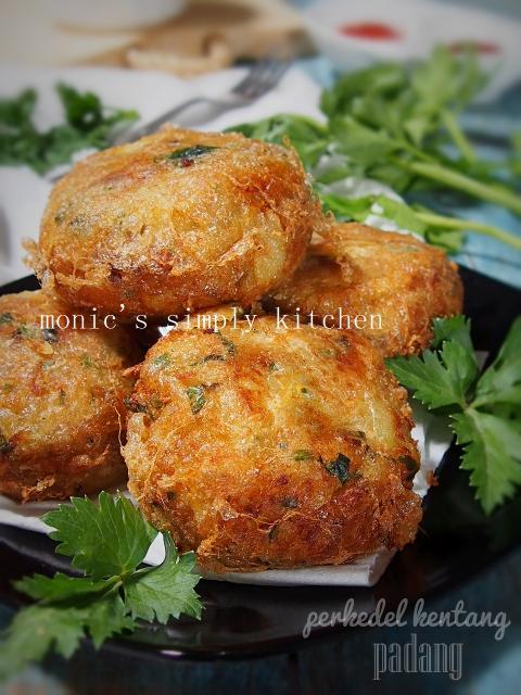 perkedel kentang padang