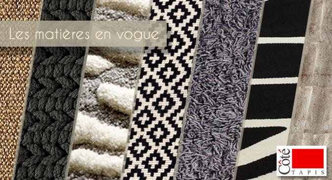 les styles et les mati res de tapis en vogue. Black Bedroom Furniture Sets. Home Design Ideas