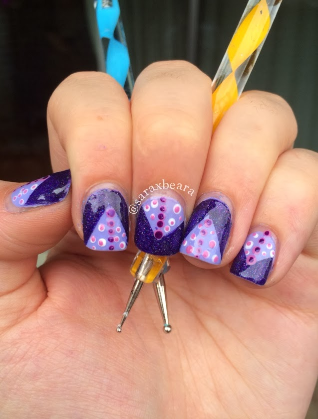 March Nail Art Challenge Day One & Spring Water Marble ...
