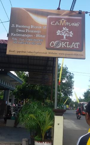 wisata blitar kampung coklat