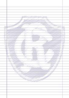 Papel Pautado do Remo rabiscado PDF para imprimir na folha A4