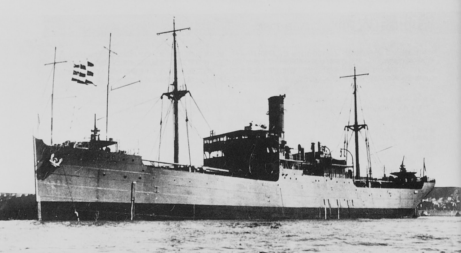 Warships Of The Imperial Japanese Navy Auxiliary Ships