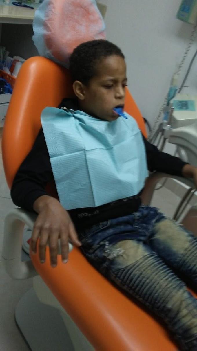 Garibaldy garo inició el  programa 0 caries en 5 años en los niños de La Guazara.