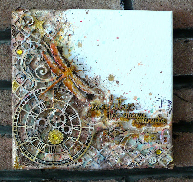 Canvas Ideas Mixed Media Art Journals And
