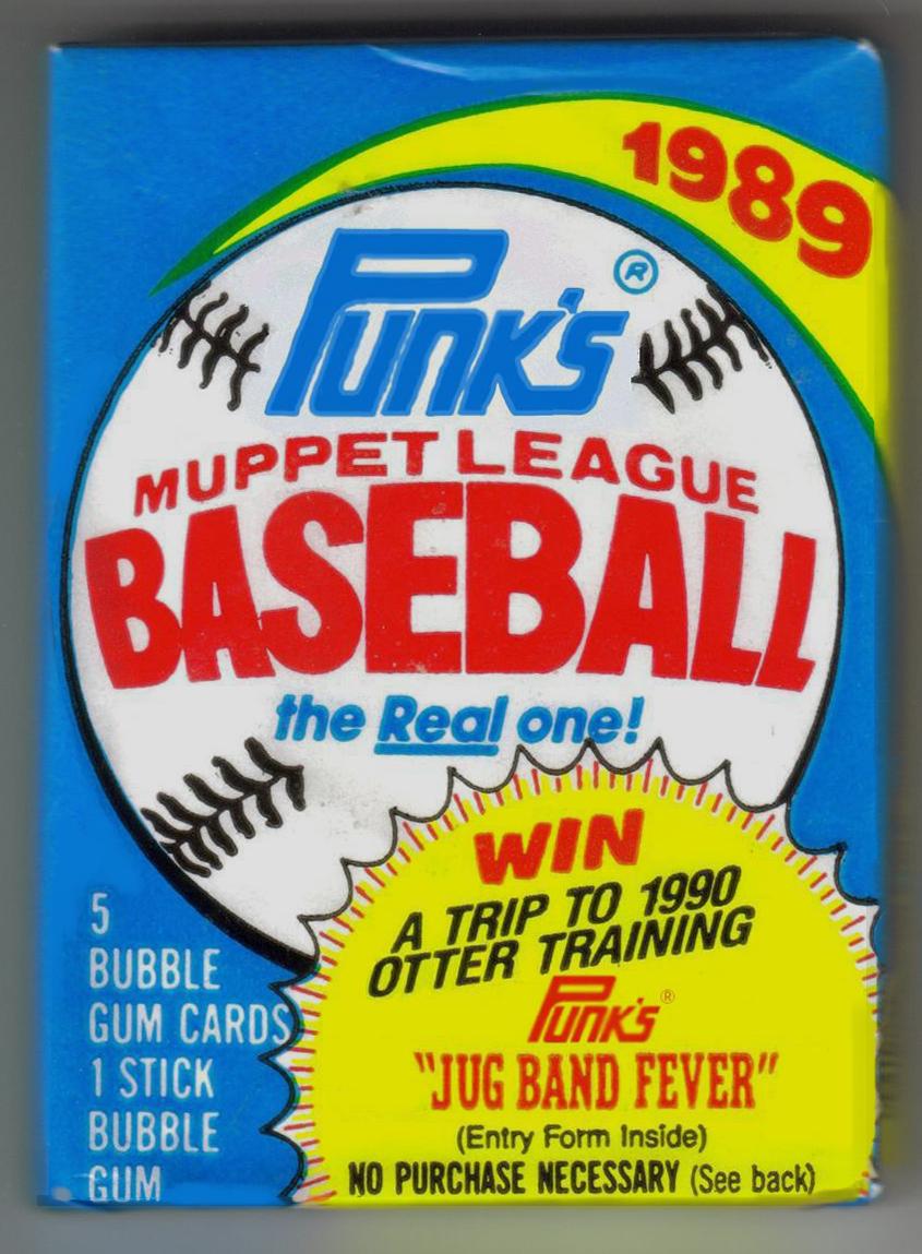 the baseball card blog: muppets bargain bin pack break