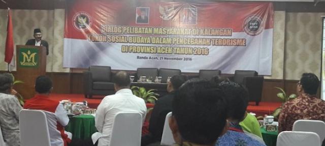 Aceh Didiskusikan Pencegahan Radikalisme dan Terorisme