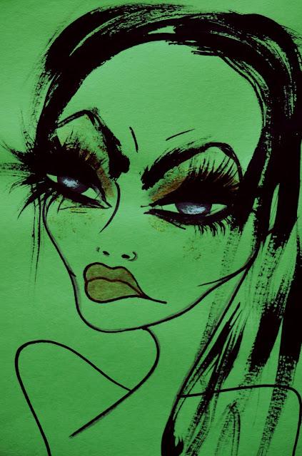 Bebee Pino eyelashes girl