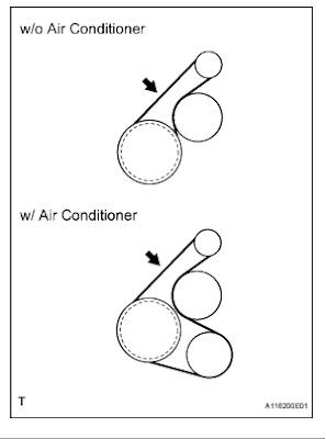 Answerimage on Toyota Serpentine Belt Diagram