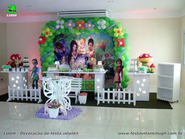 Decoração infantil Tinker Bell - Provençal luxo