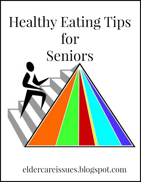 Food Pyramid Senior Citizen Nutrition