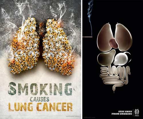 12 Contoh Poster Dilarang Merokok Kreatif dan Unik