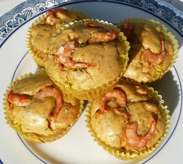 Cake aux crevettes