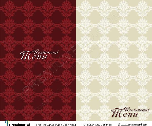 Restaurant Menu Template Design Psd Download Printriver 169