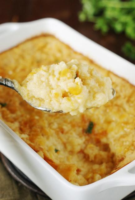 Corn Pudding from Hilda Crockett's Chesapeake House   www.thekitchenismyplayground.com