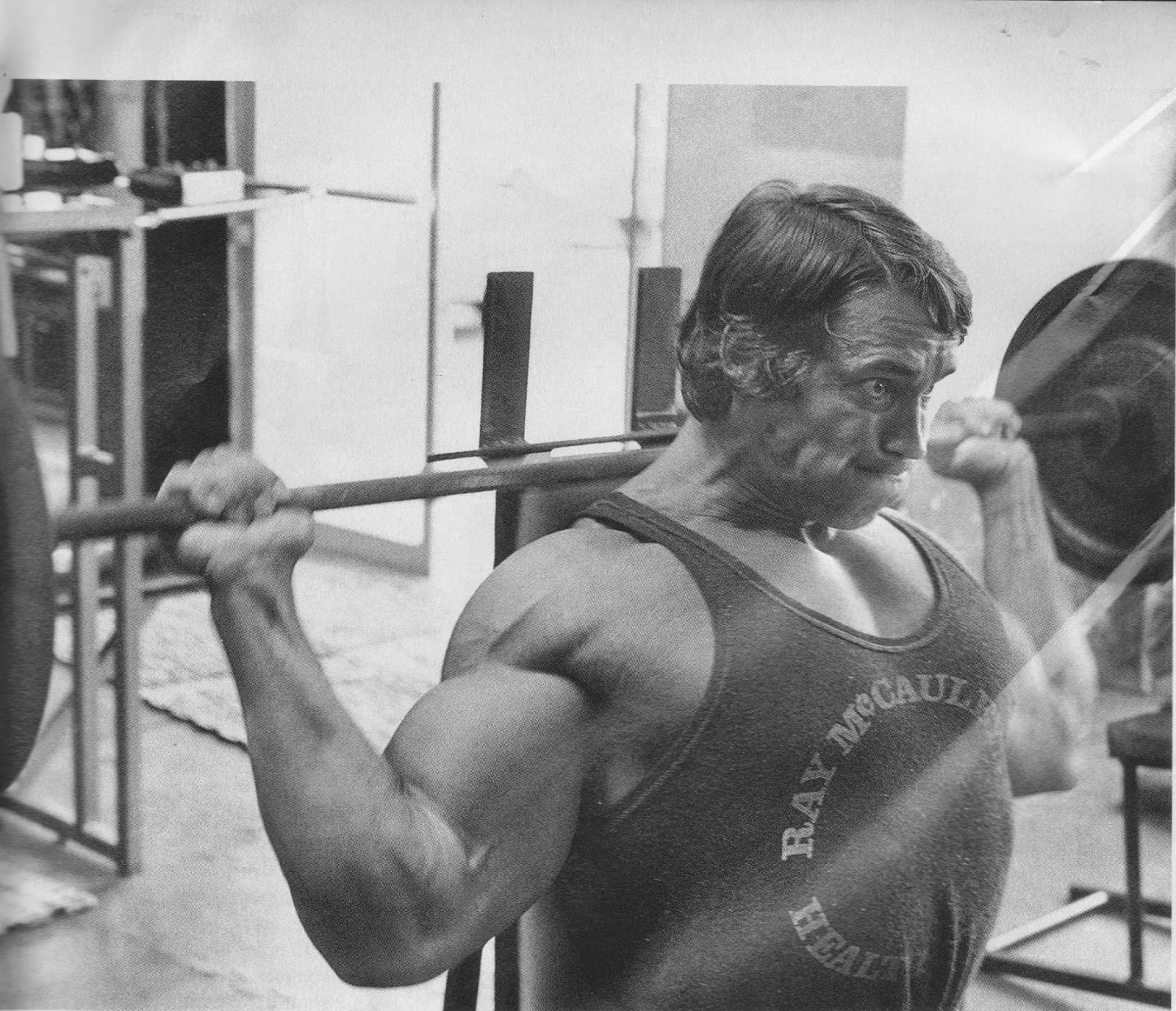 The Tight Tan Slacks Of Dezso Ban Shoulder Training