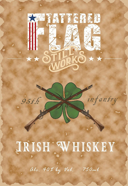 Tattered Flag Still Works Irish Whiskey