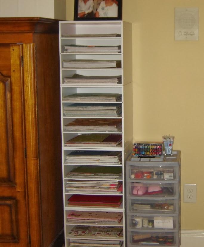 Carla's Stamping Spot: My Craft Room Redo