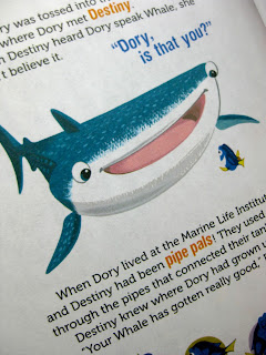 finding dory little golden book