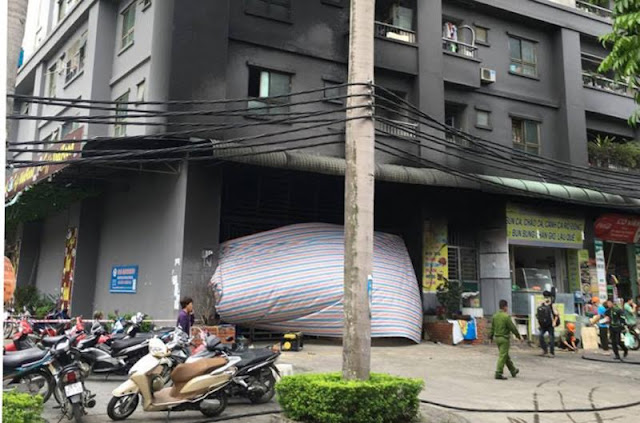 Hà Nội: Công bố loạt chung cư không an toàn cháy nổ