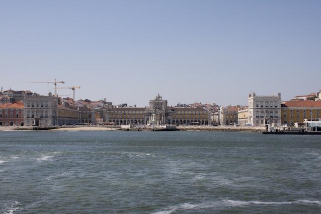 Crociera sul fiume Tejo-Praça do comercio-Lisbona