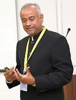 Professor D. P. Dash at S P Jain Institute of Management and Research (SPJIMR), Mumbai, India, 12 Dec 2018