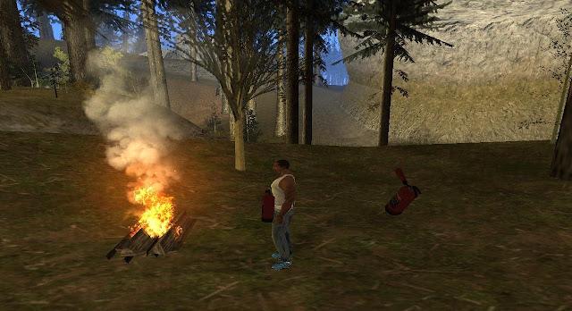 Campfire Mod for GTA SA Android