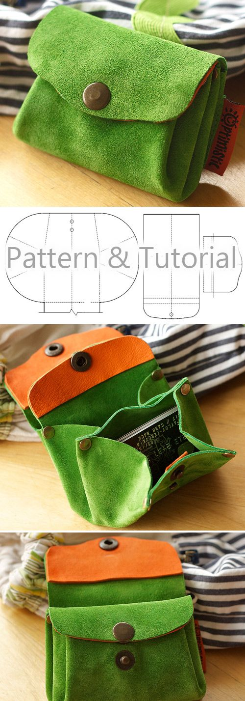 Accordion Purse / Wallet Tutorial & Pattern