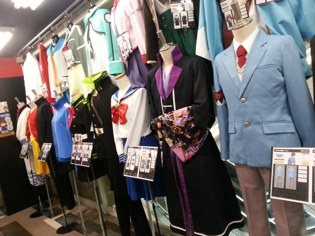 Shiroku Shopping Guide For Cosplay Tokyo Part 2 Cosplays