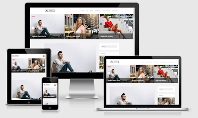 minimal responsive blogger blogging template great for any type of blog with modern desig Andria - Responsive Minimal Blogger Template