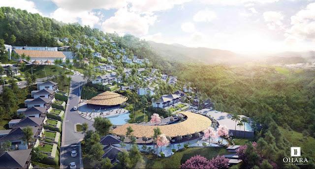 Phối cảnh dự án nghỷ dưỡng Ohara Villas