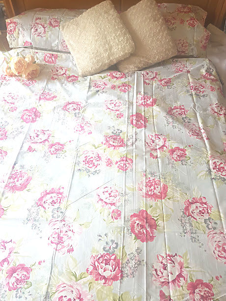 floral bedding double bed