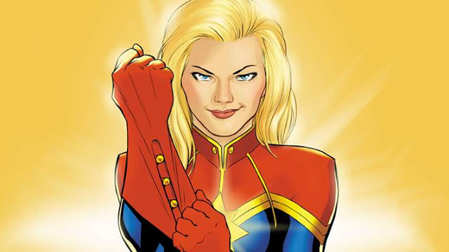 siapa captain marvel, fakta captain marvel