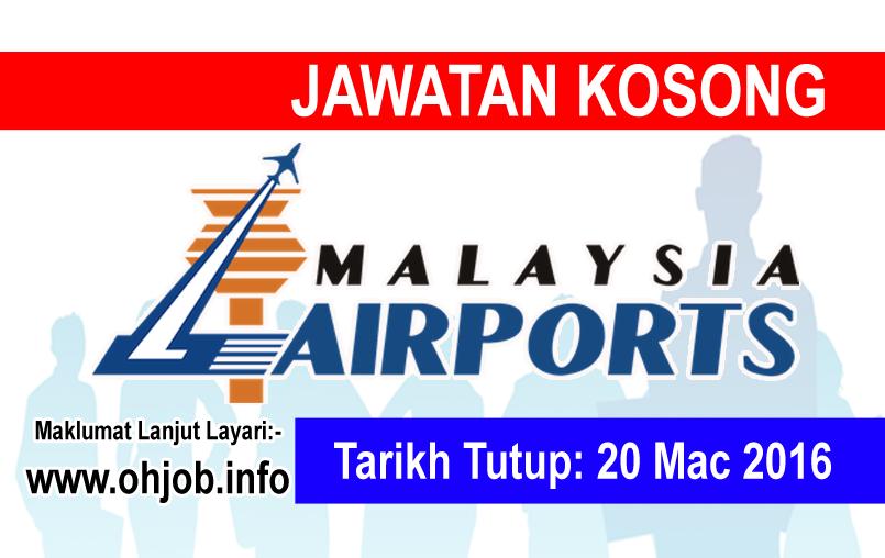 Jawatan Kerja Kosong Malaysia Airports (MAHB) logo www.ohjob.info mac 2016