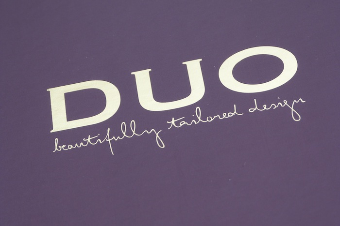 a picture of duo shoes logo