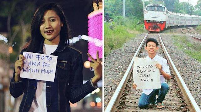 Lagi Heboh! Foto Papa-Mama Waktu Muda Ini, Hits Banget di Kalangan Anak Kekinian