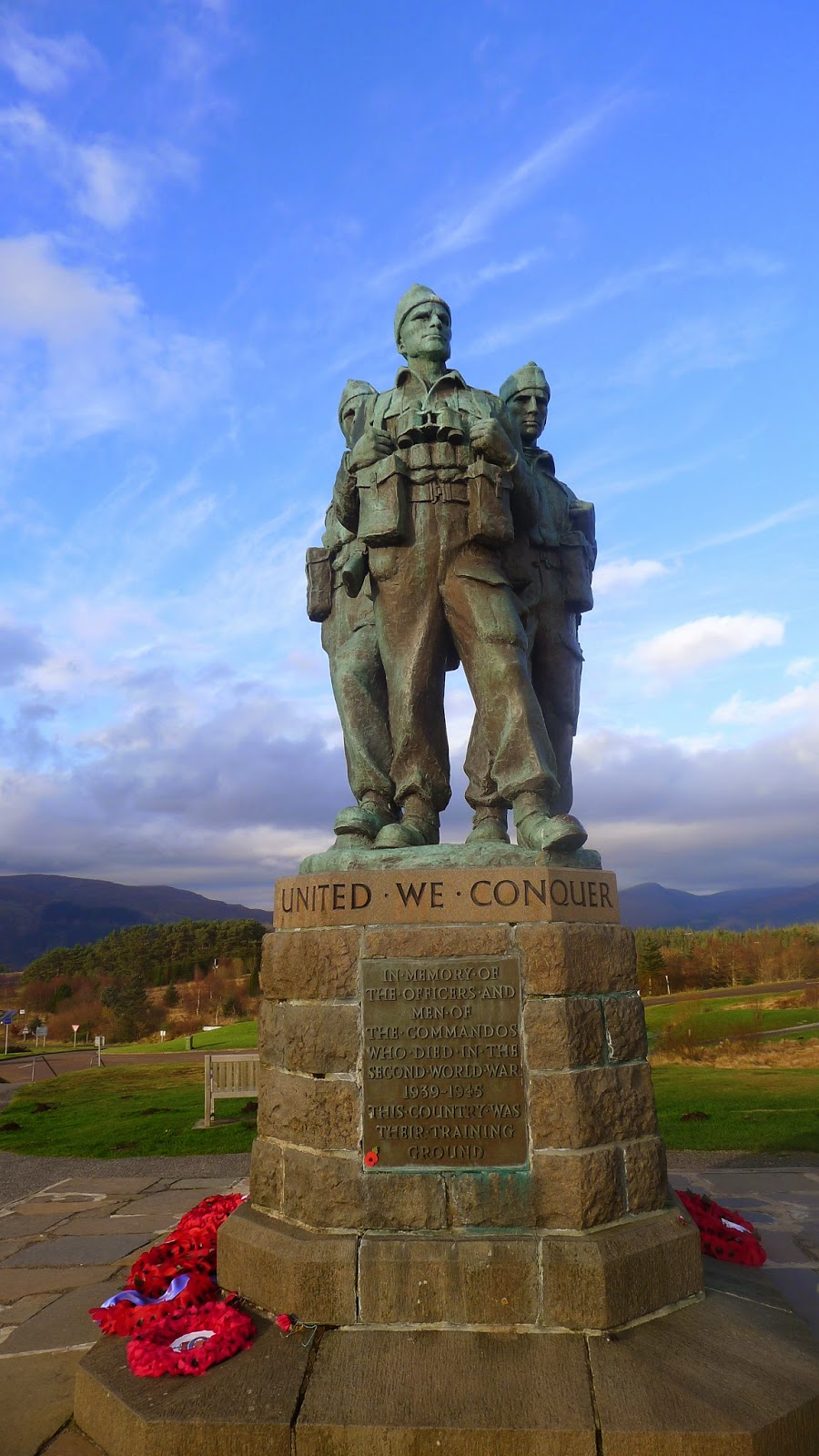 The Commando Monument, North of Spean Bridge, 29 November 2014